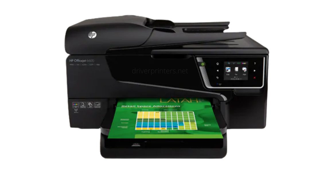 HP Officejet 6600 Driver| PRINTER DRIVER