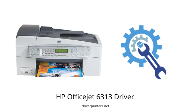 HP Officejet 6313 Driver| PRINTER DRIVER