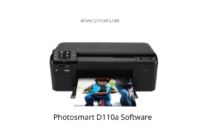 HP Photosmart D110a Software