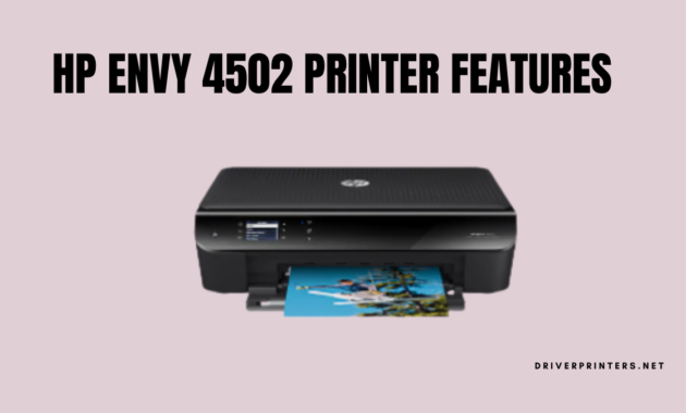 HP Envy 4502 Features